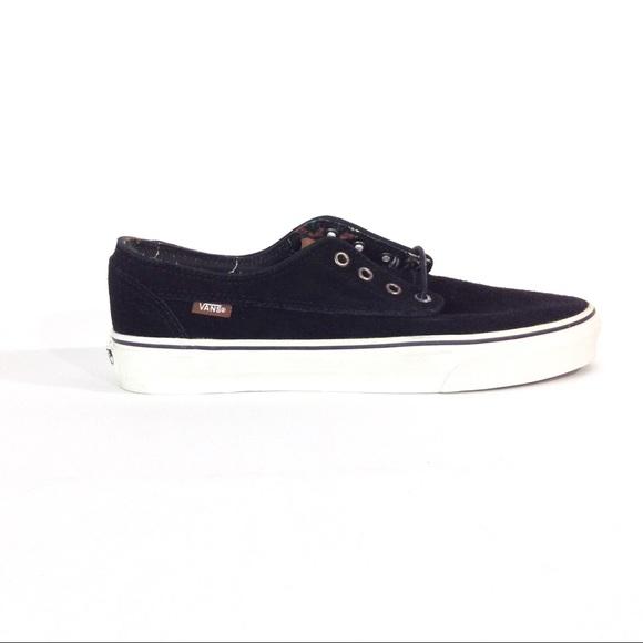 e7d4452f1f VANS Brigata Suede Black Sneakers Size 10 Men
